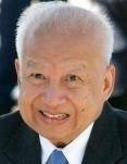 Norodom Sihanouk (Associated Press Photo)