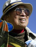 Tyrus Wong (Annie Wells / Los Angeles Times via Getty)
